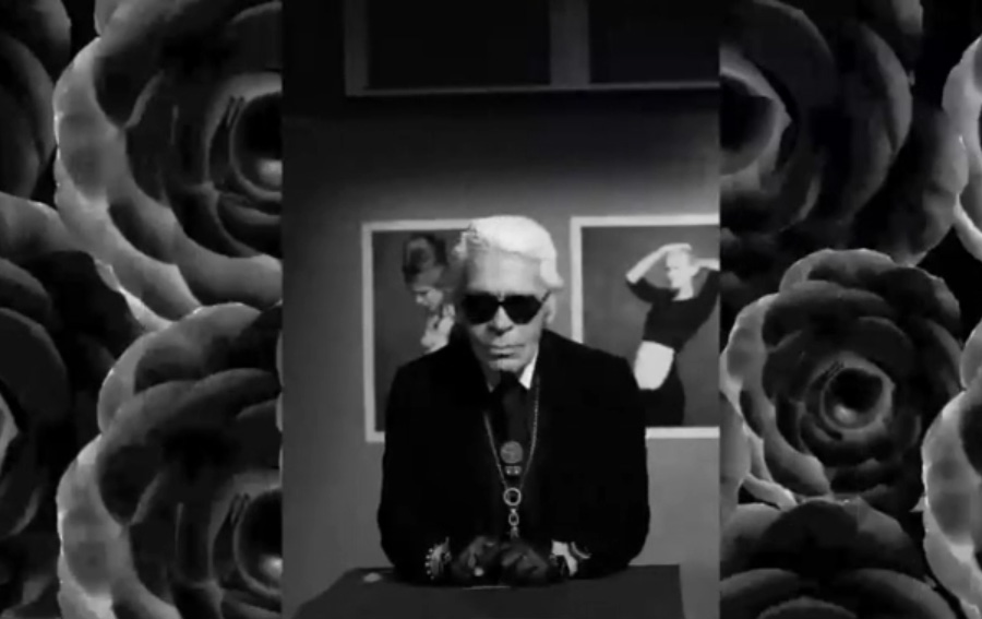 Video British Fashion Award - Outstanding achievement award to Karl Lagerfeld